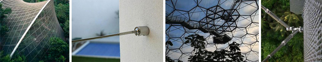 Stainless Steel Architectural Tension Systems by Petersen Stainless Rigging Ltd